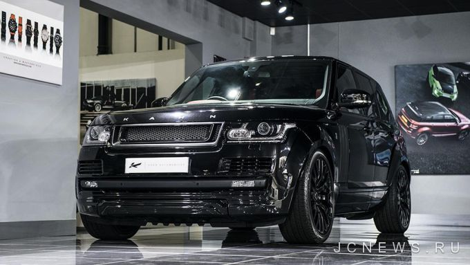 Kahn Design представил Range Rover Vogue RS